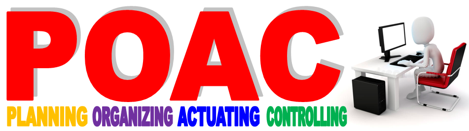 Planning, Organizing, Actuating, Controling (POAC)